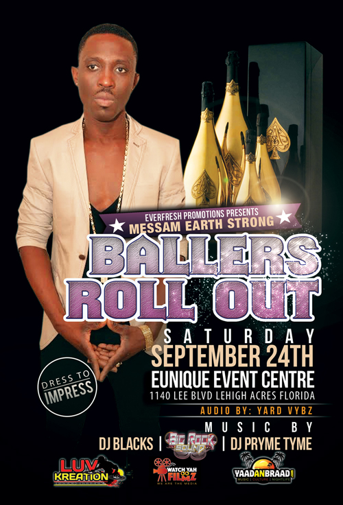 MESSAM EARTH STRONG (BALLERS ROLL OUT) 9-24-2016