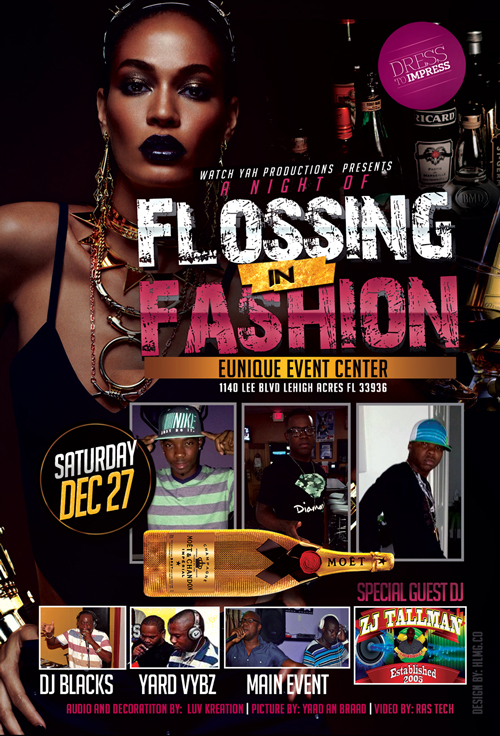 FLOSSING IN FASHION 12-27-2014